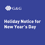 Holiday Notice for New Year's Day!