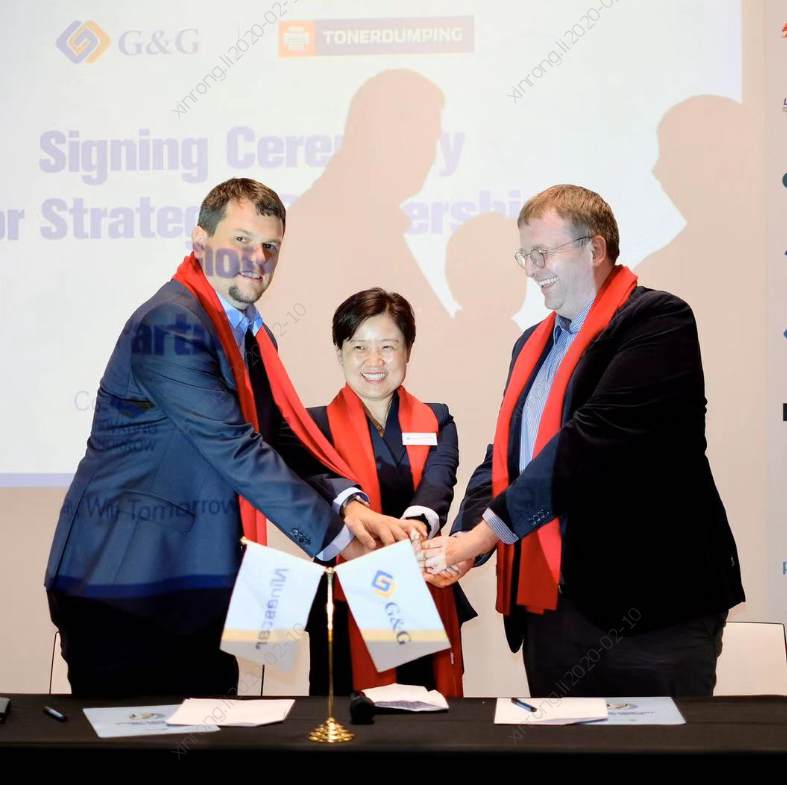 Ninestar and TonerDumping sign MoU to develop strategic partnership